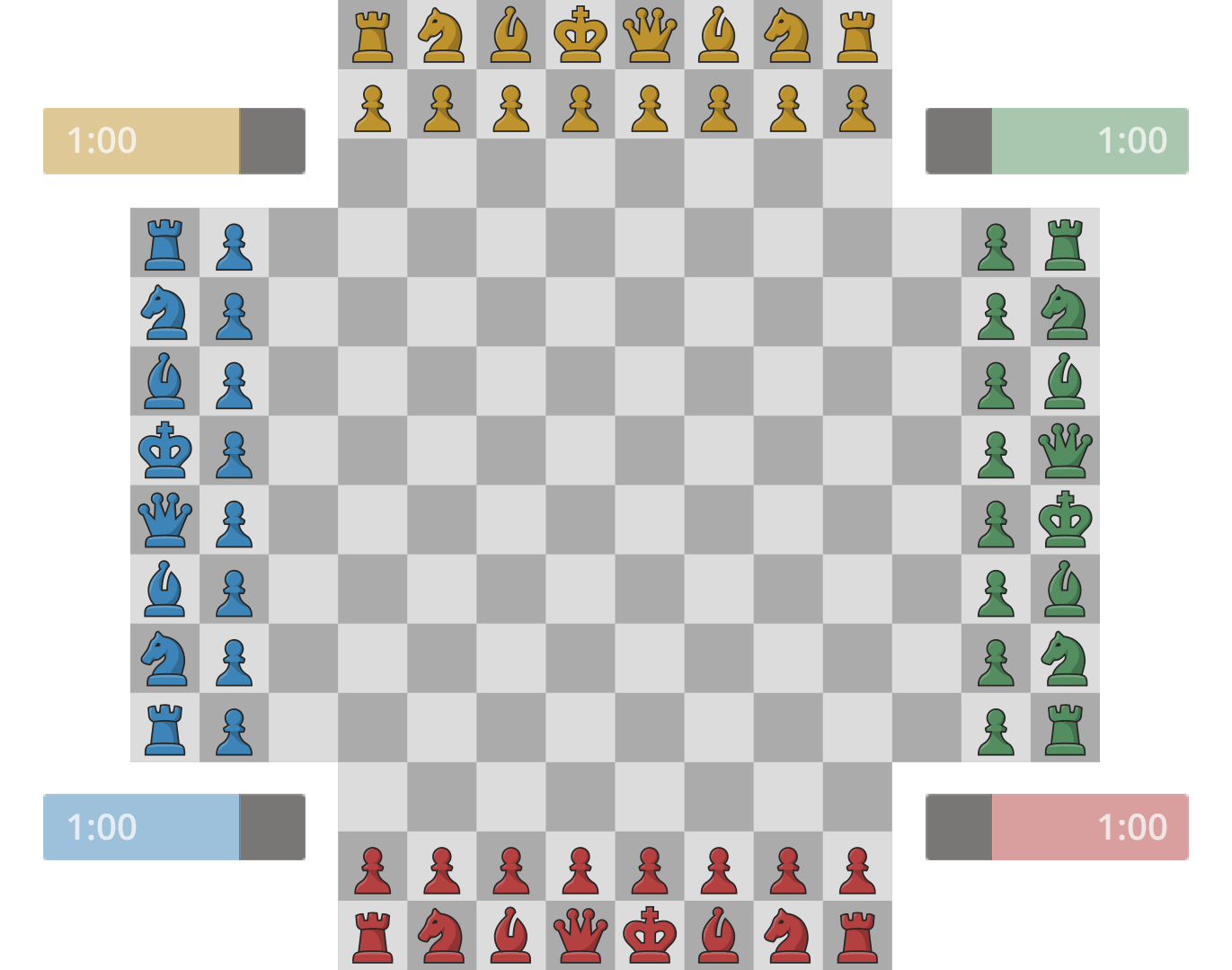 Play Four Player Chess - Chess com