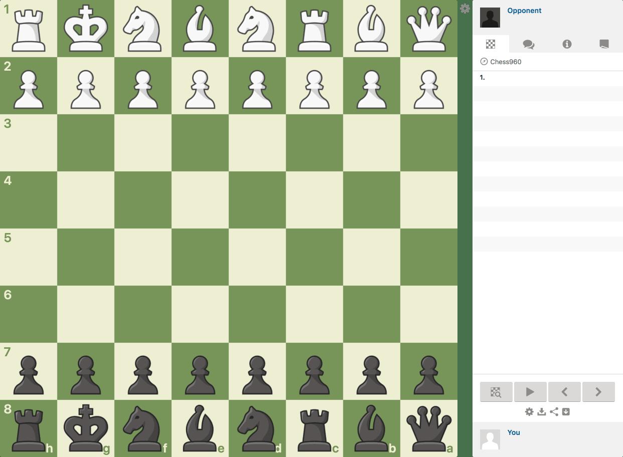 Play Chess960 (Fischer-Random) with Friends - Chess com